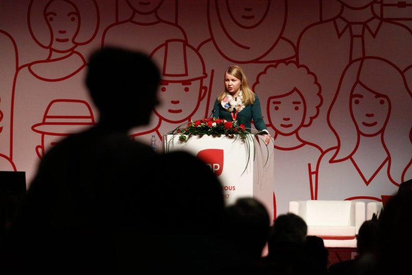 SDP:n puoluekokous Lahdessa 2017